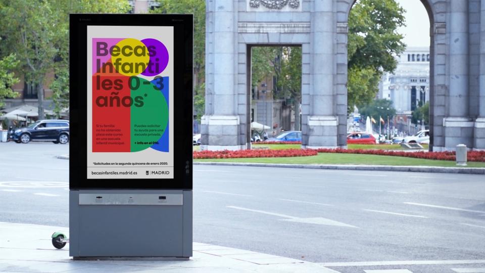 Becas Infantiles - Ayuntamiento de Madrid